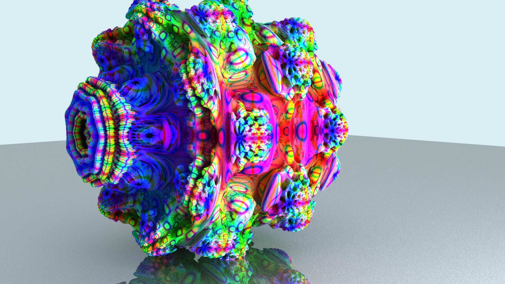 Interactive fractal path tracer feature image